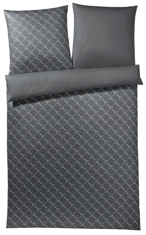 JOOP  Mako-Satin Micro Pattern Bettwäsche Kissenbezug Farbe Graphit Größe 40 80  | Düsseldorf Online Shop