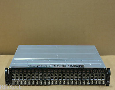 Dell Powervault Md1120 Sas Storage Array 24x 146gb 10k Hard Drives 2 Controllers