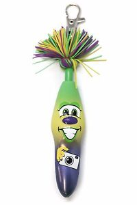The Kookys Klickers Pens Krazees Krowd 1 DOC #005 Yellow Purple School Party Pen