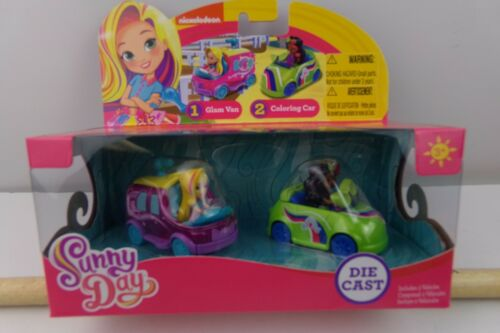 Sunny Day GLAM VAN /& COLORING CAR Die-Cast Vehicles NIB
