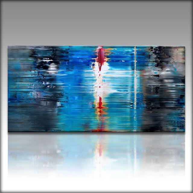 VnArtist LEINWAND KUNSTDRUCK XXL Bilder Modern Abstrakt 4837