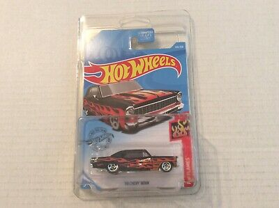 2018 Hot Wheels Loose Kmart Exclusive Yellow '68 Chevy Nova