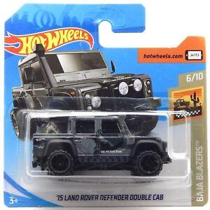 15 land rover defender double cab, hot wheels hot trucks 2019 short