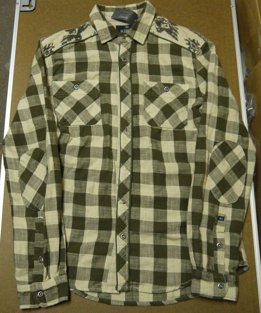 Buffalo David Bitton  Men's Plaid Long Sleeve shirt Kobar Combo Size M-XXL