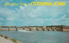 LAM(Z) Ottumwa, IA - Hydro Electric Plant and Dam on Des Moines River