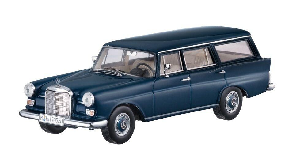 Mercedes Mercedes Mercedes Benz 230 Universal (W110)  azul Metallic  1966 (Spark 1 43   B66040586) 970dd3