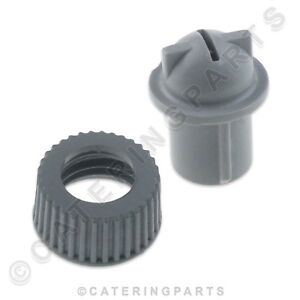 MAIDAID-HALCYON-MH100409-MH100408-RINSE-NOZZLE-JET-AND-RING-NUT-FOR-GLASSWASHER