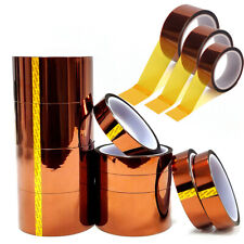 33m X 30mm Width Heat Resistant Tape Kapton Polyimide Insulation Thermal For Pcb