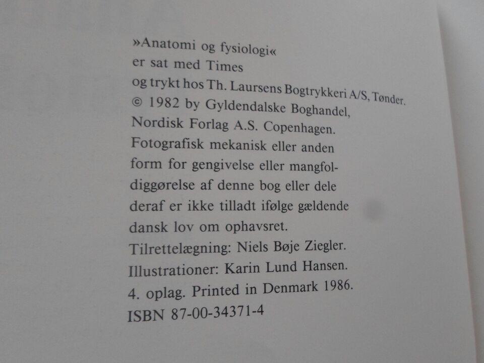 Anatomi og fysiologi, Karin Lund Hansen, år 1986