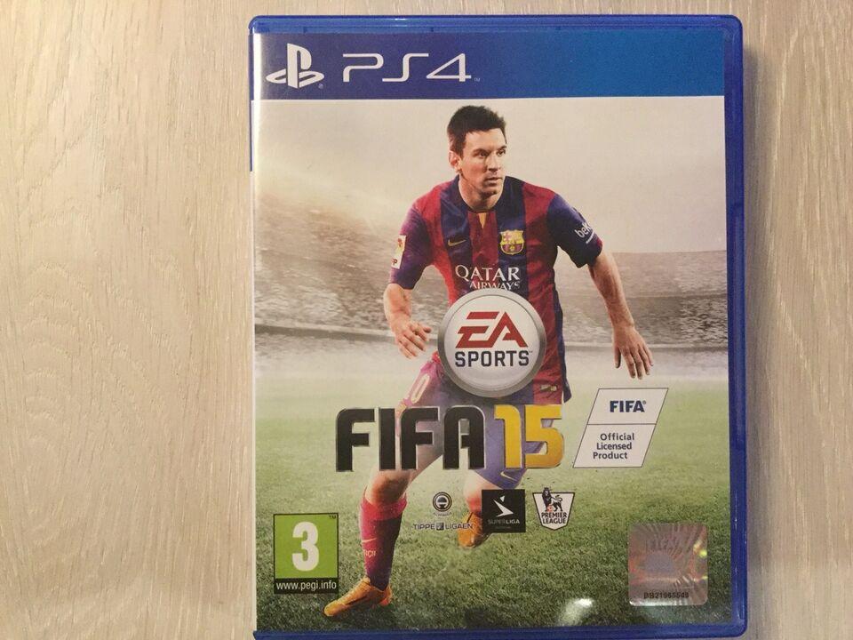 FIFA 15, PS4, sport