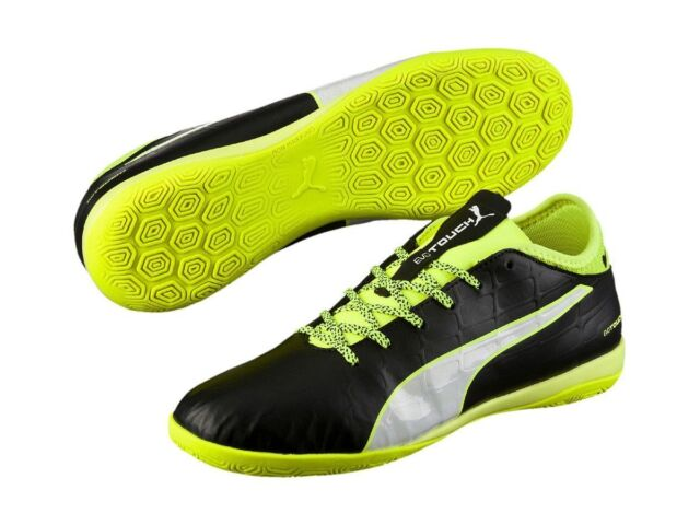 99b74b359dac Puma evoTOUCH 3 IT Men's Black Indoor Football Trainers Sports Shoes