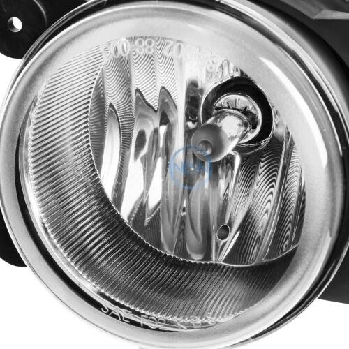 Chrome Clear Driving Fog Light//Lamp+Switch for 2005-2010 Chrysler 300//Caliber