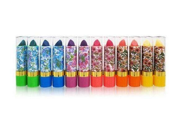 12 Princessa Mood Lipstick W/Aloe Long Lasting Magic Color Pink/Red 24 hour  Lip