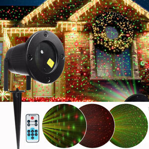 Image Is Loading Laser Fairy Star Light Projector Show Christmas Landscape