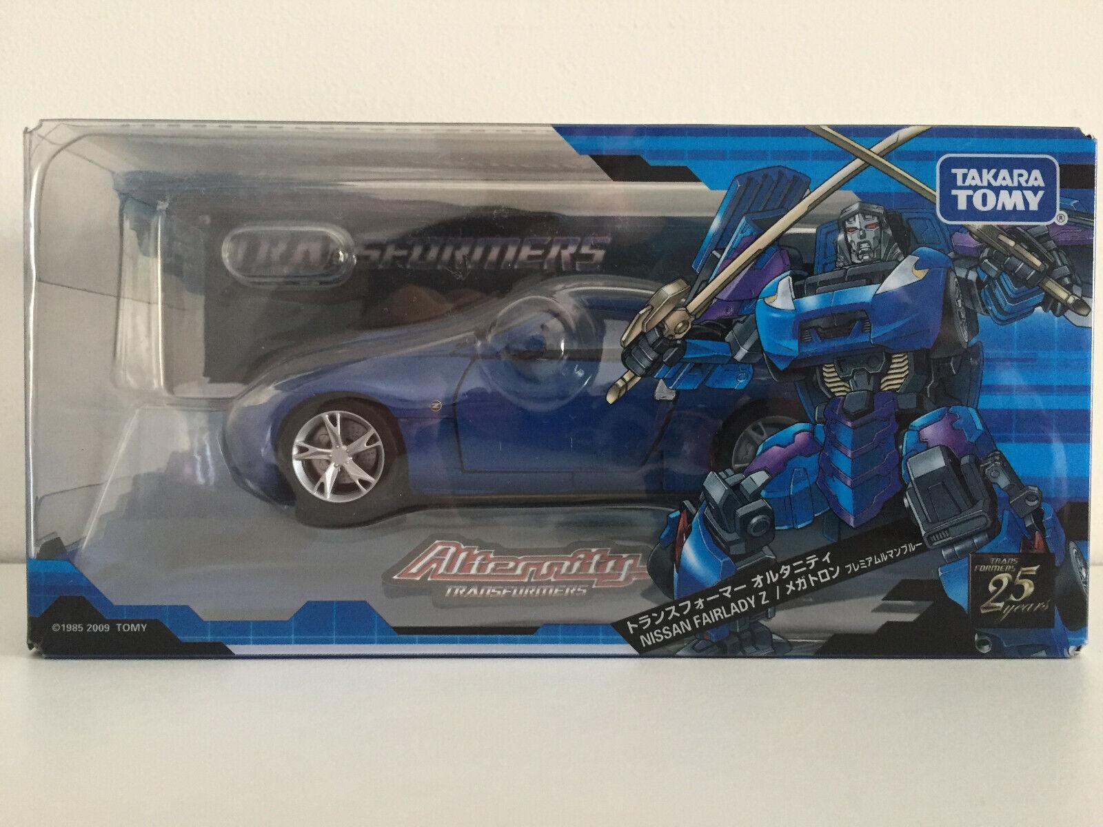 [NIB] Takara Transformers Alternity A-02 NISSAN Fairlady Z   Megatron (bluee)