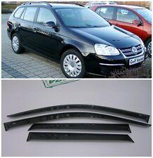 For VW Golf 5 Variant/Wagon 2007-2012 Side Window Visors Guard Vent Deflectors