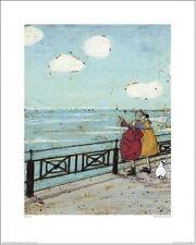 Sam Toft-su favorito en la nube artprint 40x50cm