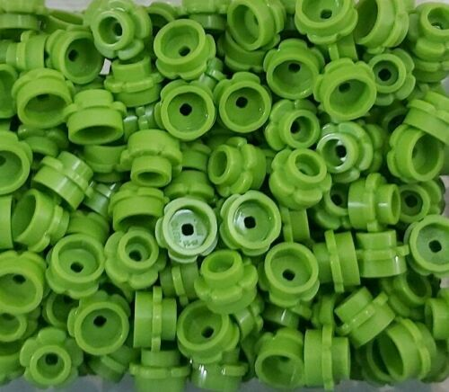10 pieces *NEW* Lego Lime GreenFlowers Small 1x1 Stud Branches Gardens Forest
