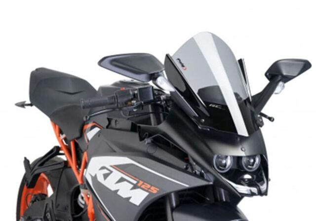 PUIG Z-RACING SCREEN FOR KTM RC390 14-20 LIGHT SMOKE