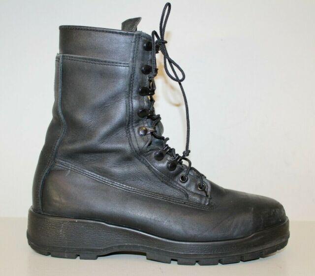 5ba3927f05c Belleville Mens Boots Sz 10 M Steel Toe Black Leather Tactical Military  Combat