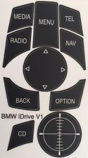BMW I-DRIVE Decal Overlay Repair Kit Set iDrive Worn Peeling Buttons Guaranteed