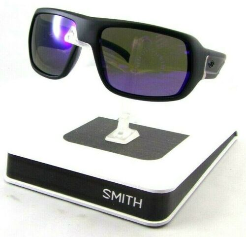 New Old Stock Smith Optics Vanguard Sunglasses Matte Black Frames// Purple Lenses