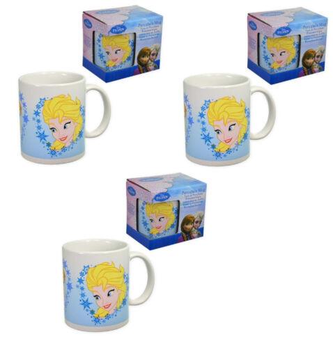 3x Frozen Eiskönigin Elsa Tasse Frühstückstasse Becher Kakao Milch Tee Cup