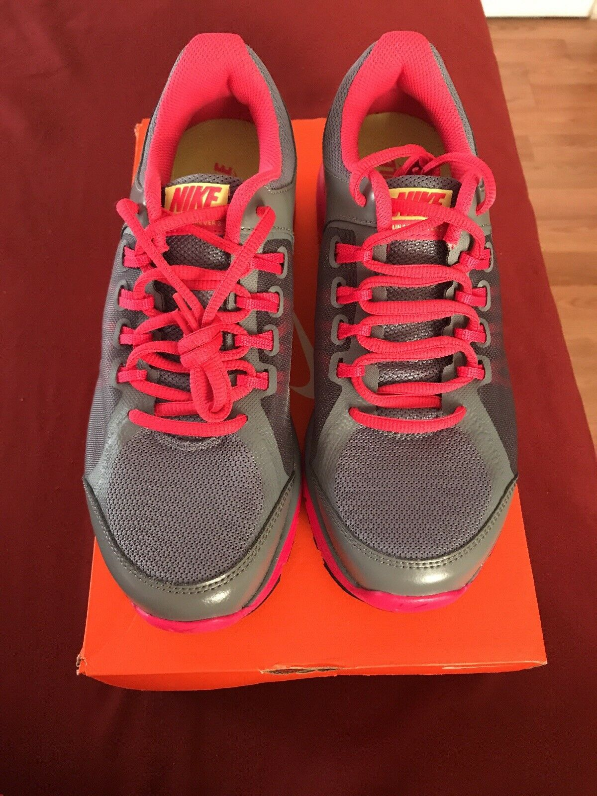 Women's Nike Lunar Forever 3, US size 9, Gray/Pink, brand new in original box