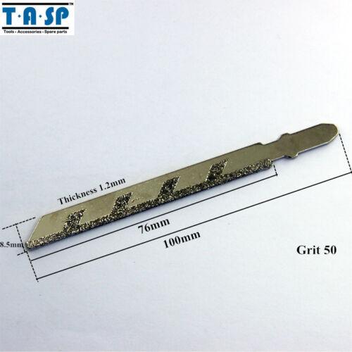 "4/"" Diamond Jig Saw Blades Side Edge 100mm for Granite Cutting T-shank of TASP"