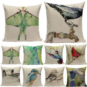 Cover-Bird-Printed-Qulity-Pillowcases-Cushion-High-Decorative-Kiwi-Pillow-Real