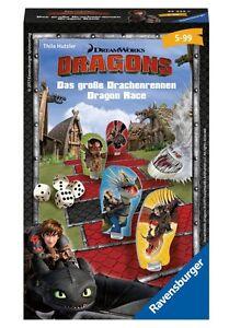 2019 Nouveau Style Dragons-le Grand Dragon Courses-ravensburger 23432-neuf-afficher Le Titre D'origine ArôMe Parfumé