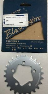 BLACKSPIRE-PRO-5-BOLT-24T-58BCD-8-9-SPEED-SILVER-CNC-ALLOY-MTB-CHAINRING