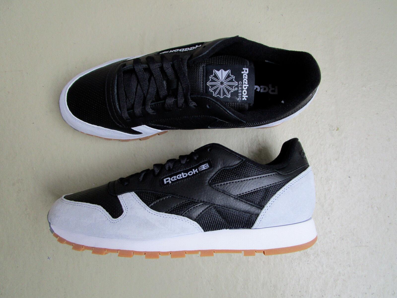 Kendrick Lamar X Reebok Classic Leather 45 Perfect Split Black Cloud/Grey Gum