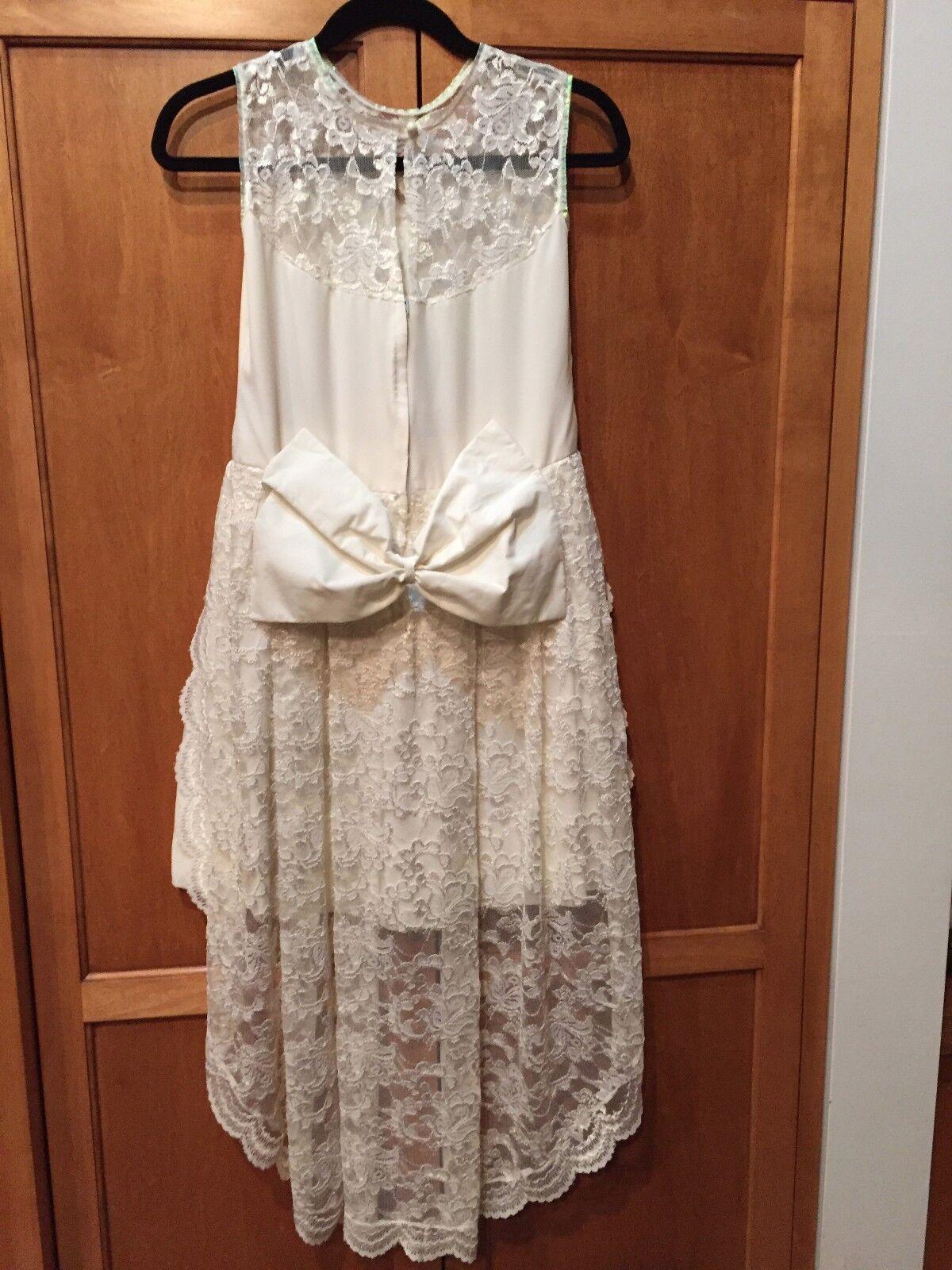 Vintage 60's Wedding Mini Dress - image 3