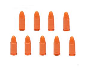 set of 7 Genuine! OEM Glock 9mm Snap Cap Dummy Rounds for Training