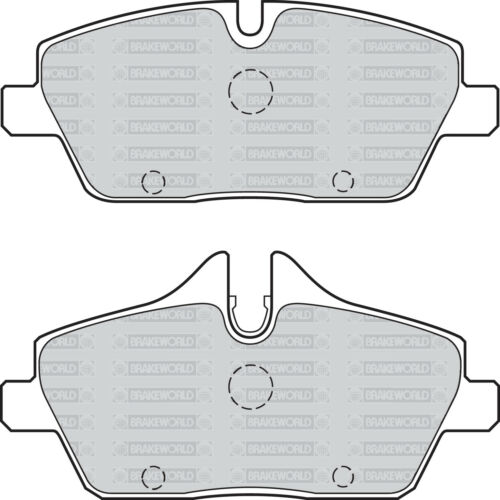 OEM SPEC FRONT REAR DISCS AND PADS FOR BMW 116 2.0 E87 2008-10