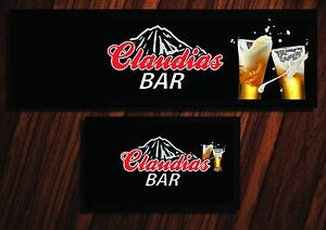 PERSONALISED-COORS-LIGHT-BLACK-LABEL-BAR-RUNNER-HOME-PUB-BEER-MAT-OCCASION