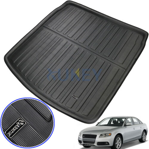 Rear Trunk Tray Boot Floor Mat Cargo Liner For AUDI A4 S4 RS4 B7 B8 Sedan 05-16