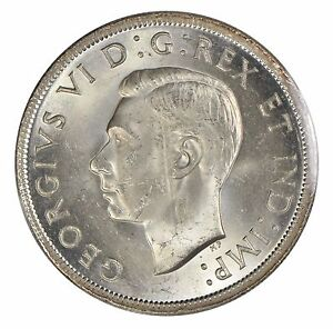 1939-Canada-1-Silver-Dollar-ICCS-MS-64
