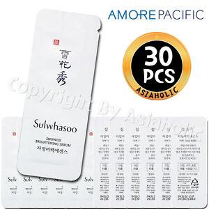 Sulwhasoo-Snowise-Brightening-Serum-1ml-x-30pcs-30ml-Sample-Newist-Version