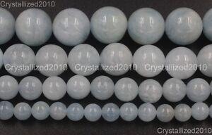 100-Natural-Aquamarine-Gemstone-Round-Loose-Beads-4mm-6mm-8mm-10mm-12mm-15-5-034