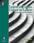 Learn to Listen, Listen to Learn 1: Academic Listening and Note-Taking by Roni S. Lebauer (Paperback, 2010)