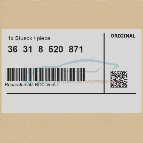 Original BMW 36318520871 Reparatursatz RDC-Ventil RDC