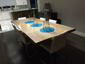 Custom Bowling Alley Tables (Harvest Tables) New Brunswick Preview