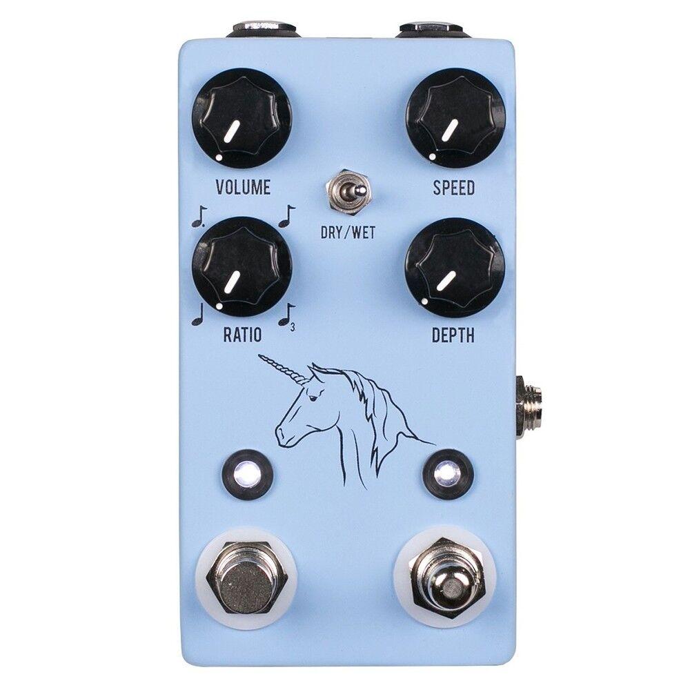 JHS Pedales Unicorn V2 Uni-Vibe Vibrato Analog Chorus Guitar Guitar Guitar Pedal de efectos  edición limitada