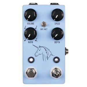 jhs pedals unicorn v2 analog uni vibe vibrato chorus guitar effects pedal 650415211876 ebay. Black Bedroom Furniture Sets. Home Design Ideas