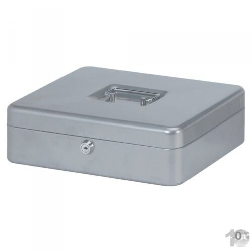 245 x T H MAUL Geldkassette silber Maße: 90 mm B 300 x