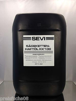 20 Liter SEVI Sägekettenöl mit Superhaft Zusatz, Kettenöl mineralisch Kettenoel