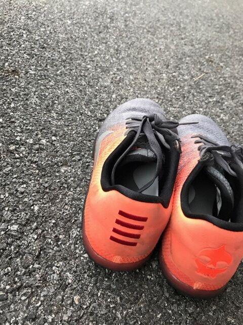 Nike Kobe XI 11 Elite Low Easter Dark Grey Bright Mango Price reduction Comfortable
