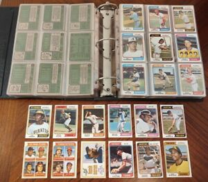 1974-TOPPS-BASEBALL-COMPLETE-SET-WITH-TRADED-amp-ERRORS-WASH-NATL-EX-NM-READ-DES
